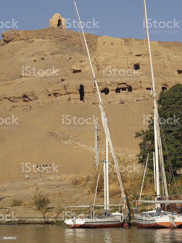 Aswan zbiór zdjęć royalty-free
