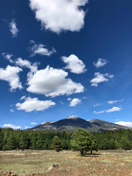 Humphreys Peak stock photo