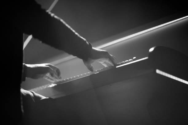 Bei einem Konzert der Klaviermusik – Foto