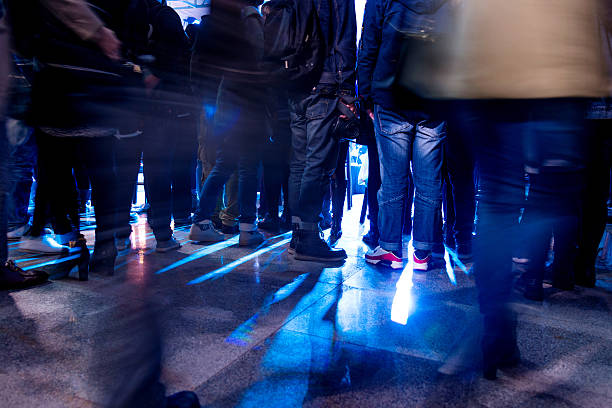 Best Concert Queue Stock Photos, Pictures & Royalty-Free