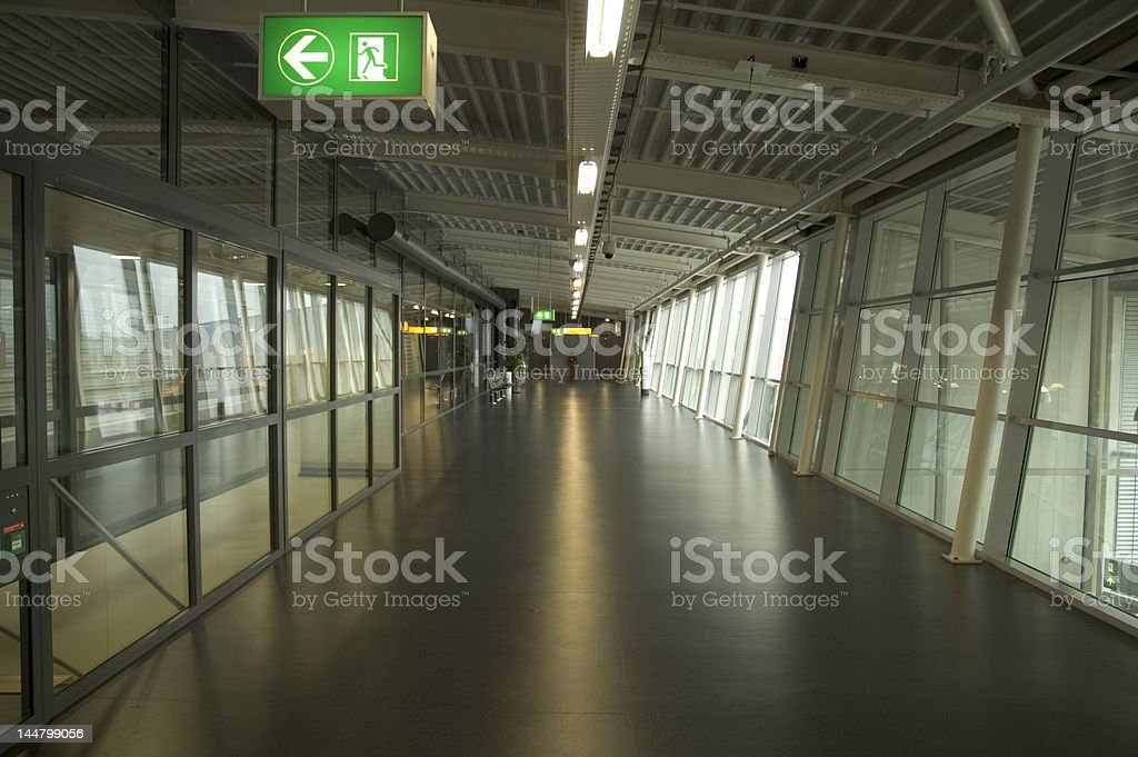 At airport royalty-free stock photo