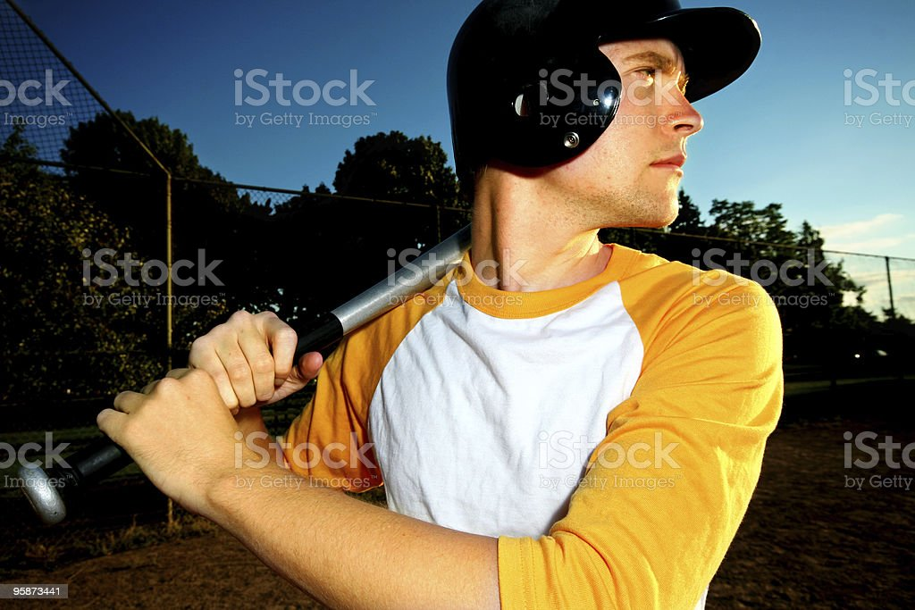 at bat royalty-free stock photo