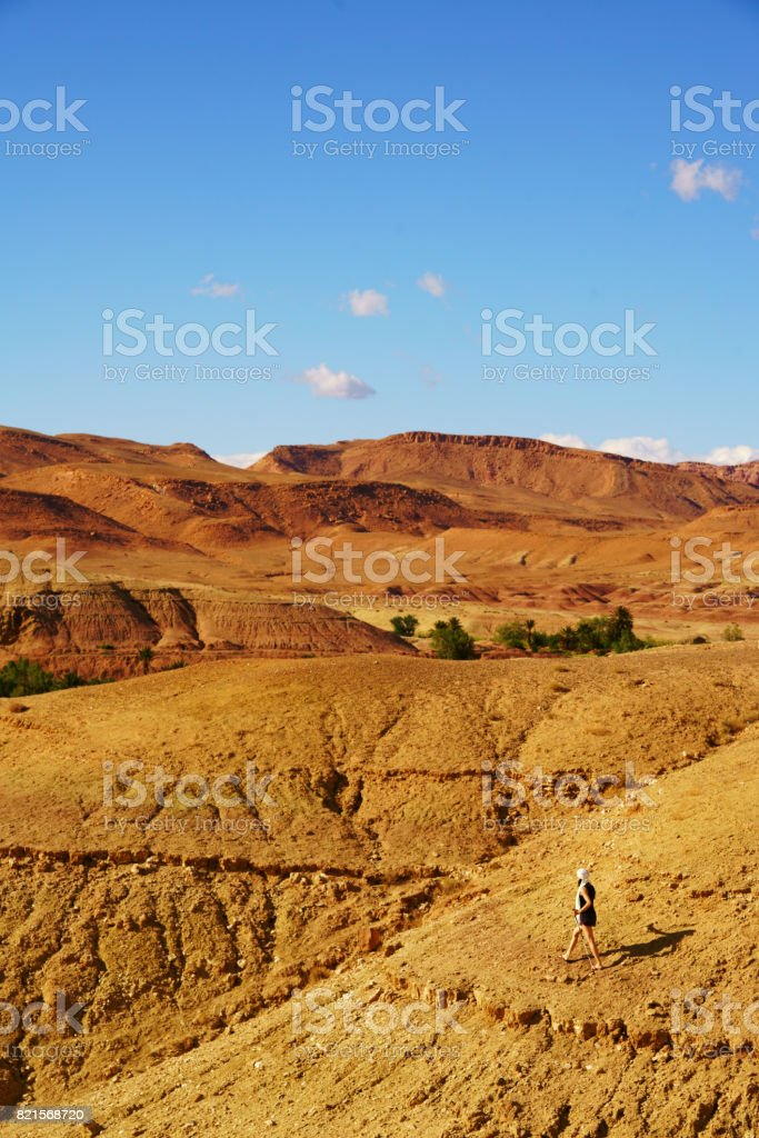 Aït Ben Haddou - Ancient city in Morocco North Afric stock photo