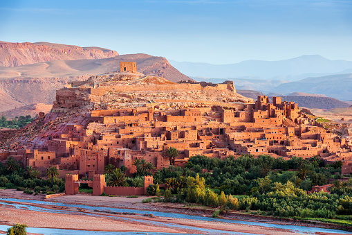 Aït Ben Haddou Ancient City In Morocco North Africa Stock Photo - Download Image Now