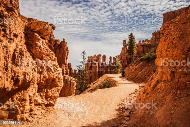 Photo of At Bryce Canyon National Park, Peek-a-boo trail