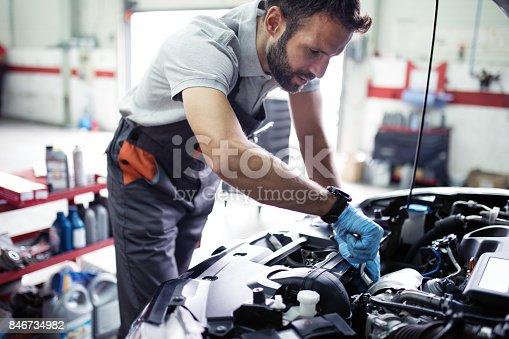 istock At car service 846734982