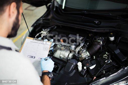 istock At car service 846736134