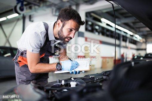 istock At car service 846739112