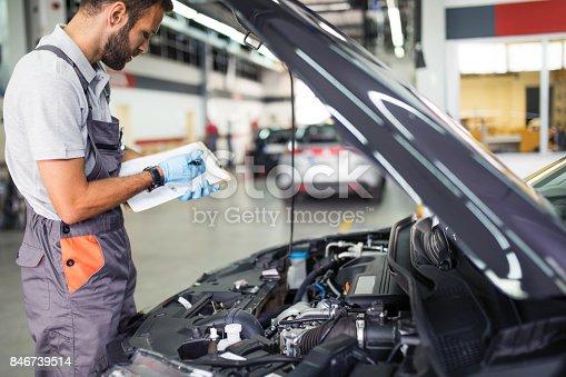 istock At car service 846739514