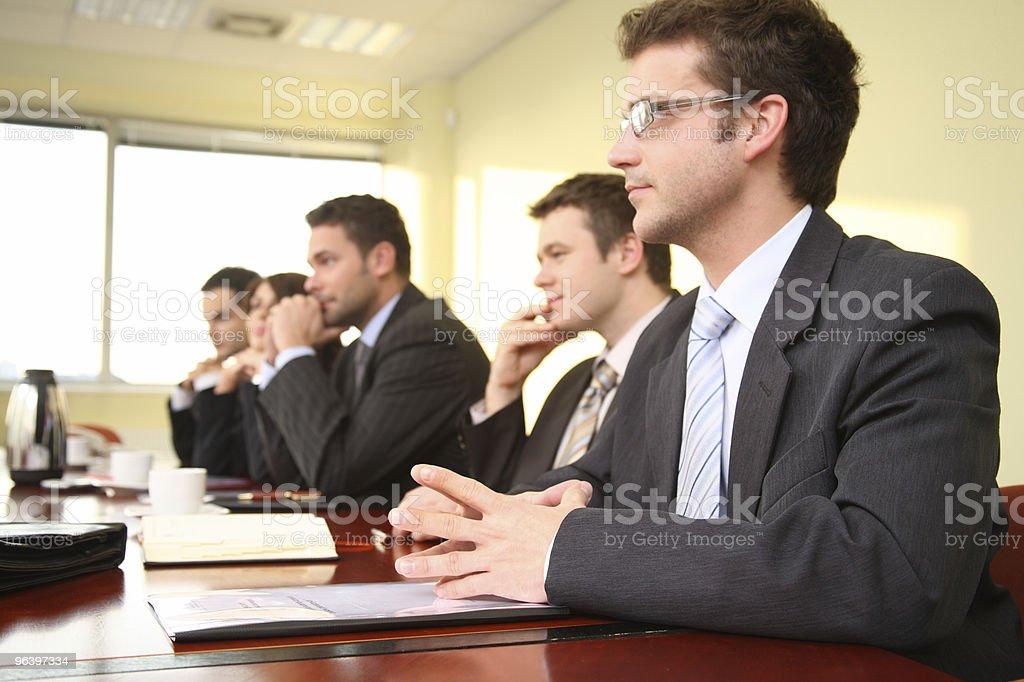 at he debate stock photo