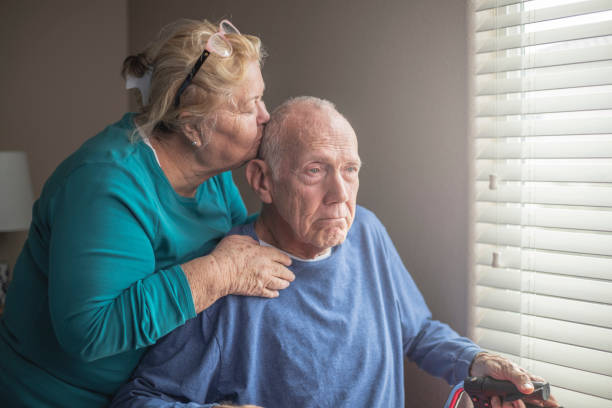 At Home Care Giver stock photo