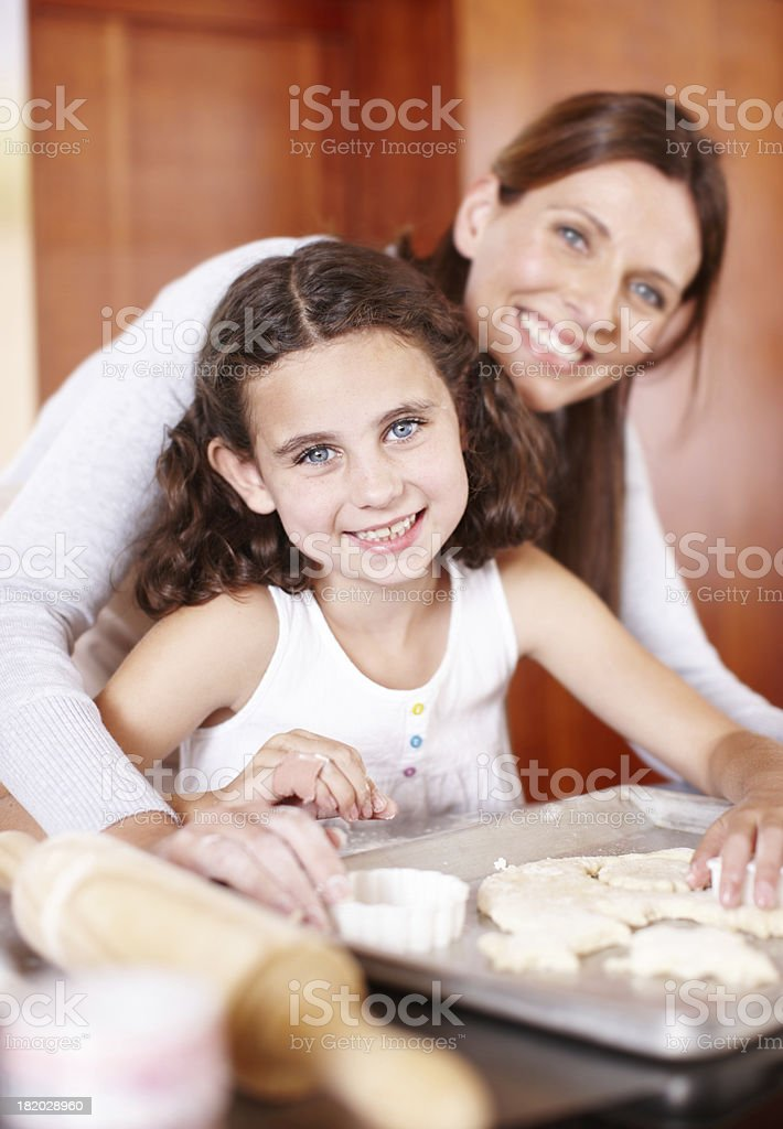 At home in the kitchen royalty-free stock photo