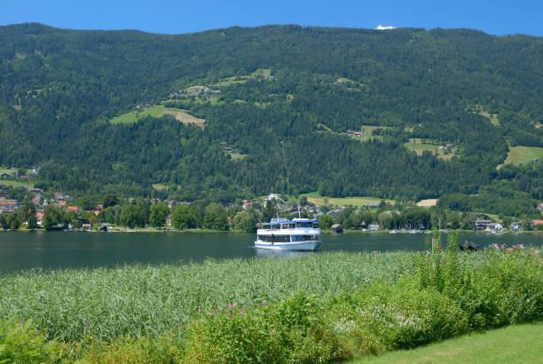 at Lake Ossiacher See in Carinthia,Austria – Foto