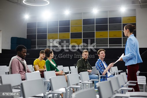 istock At lecture 679236414