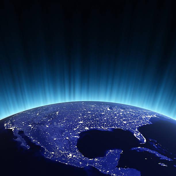 USA bei Nacht – Foto