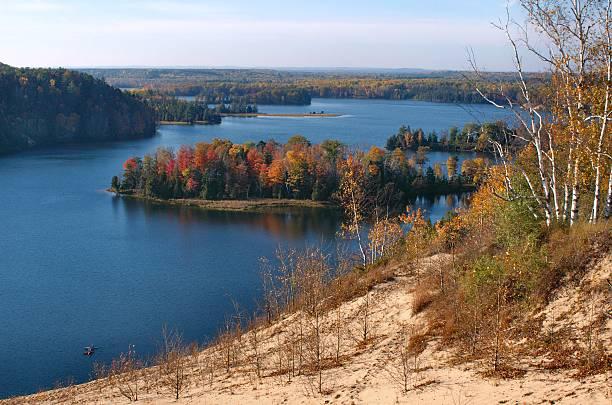 Au Sable River stock photo