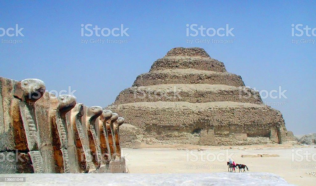 At Saqqara II royalty-free stock photo