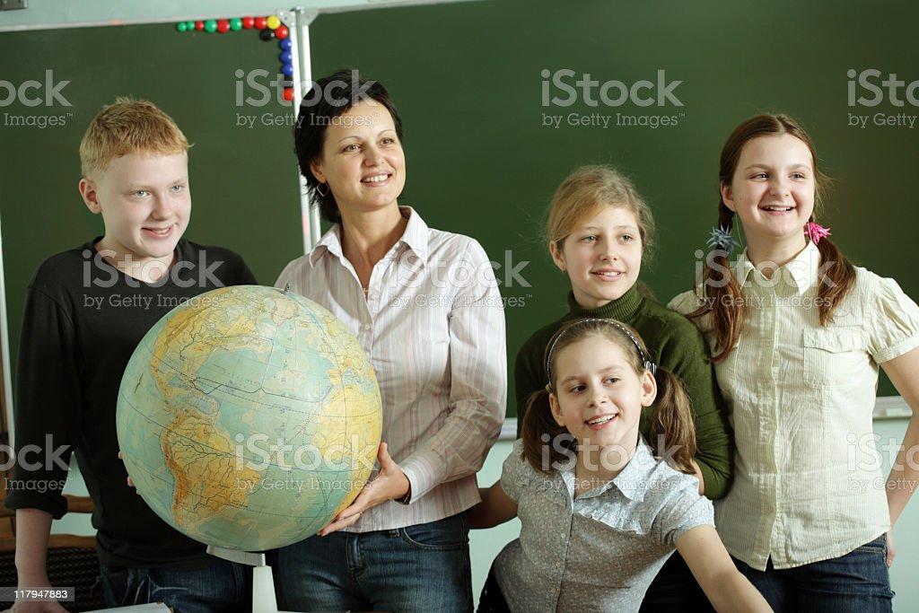 at school royalty-free stock photo