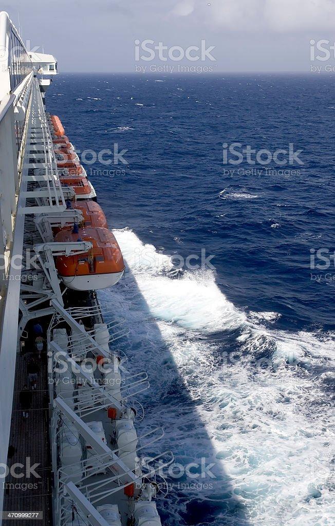 At Sea stock photo