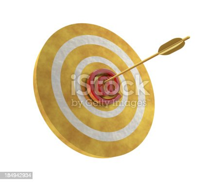 859332096istockphoto At Sign on Target 184942934