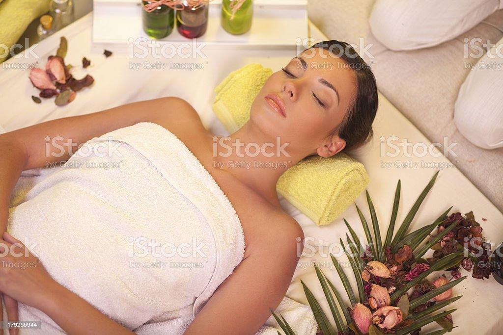 At spa. royalty-free stock photo