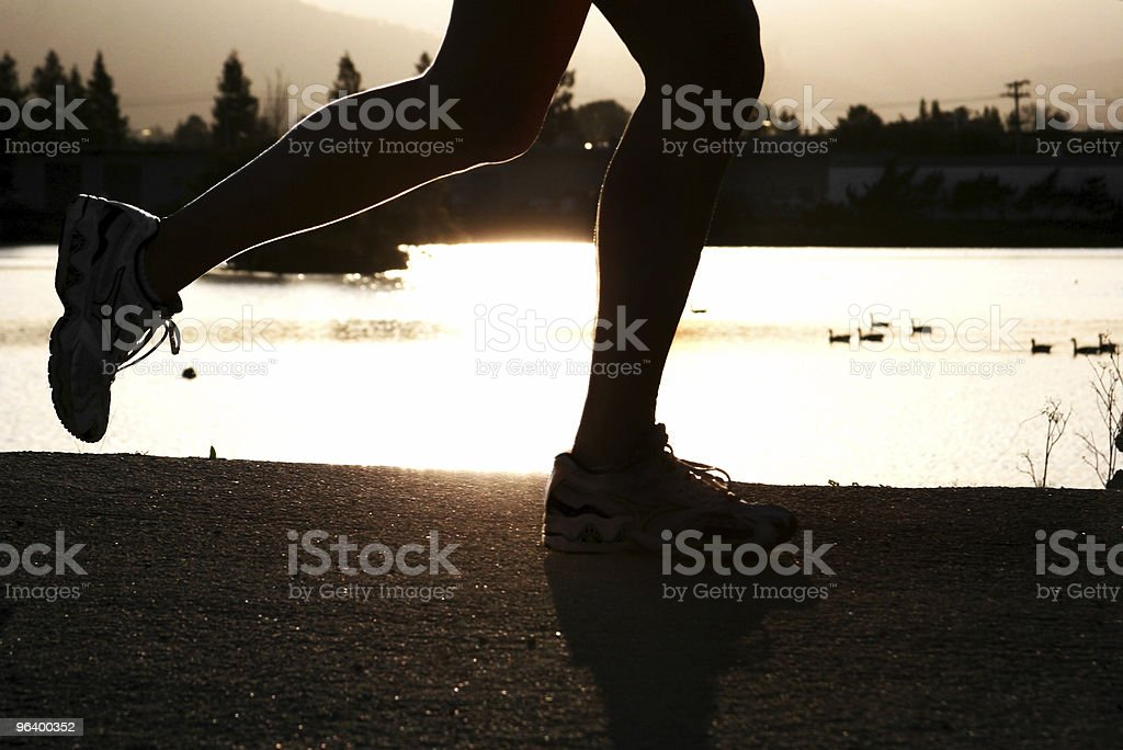 At sunset - Royalty-free Adult Stock Photo
