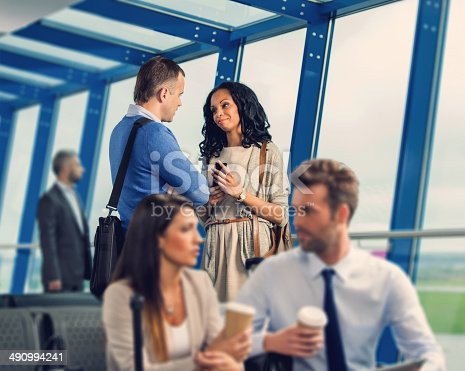 istock At the airport lounge 490994241
