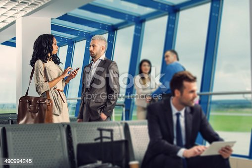 istock At the airport lounge 490994245