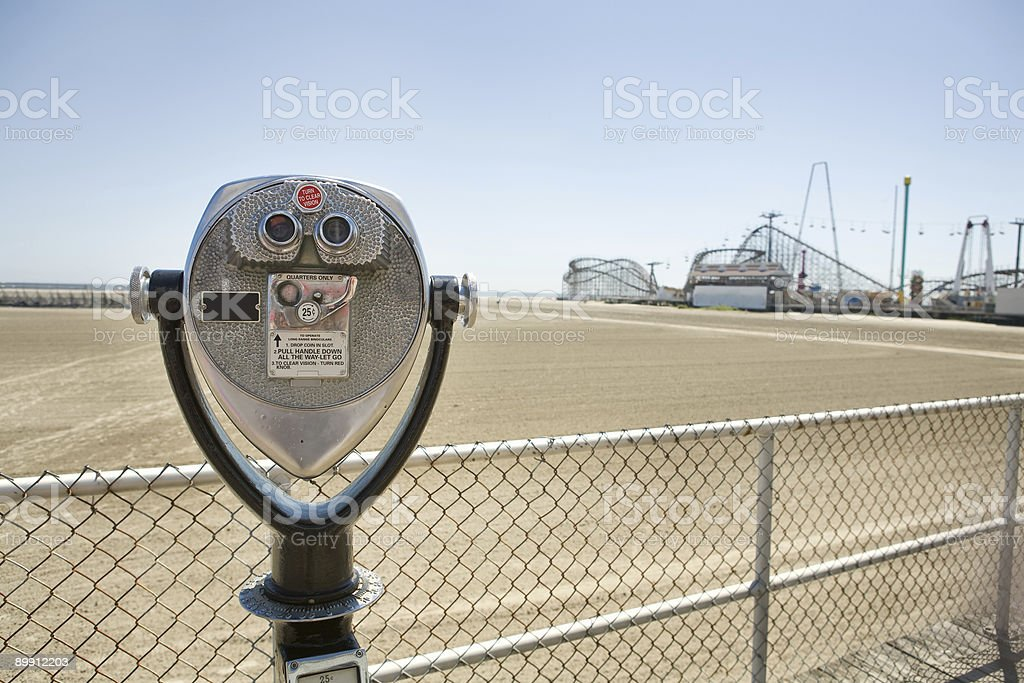 At the Boardwalk royalty-free stock photo