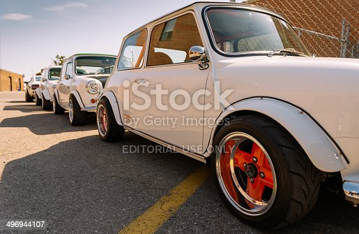 istock At the Classic Mini show and shine 496944107