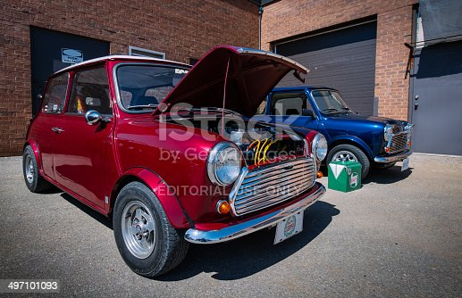 istock At the Classic Mini show and shine 497101093