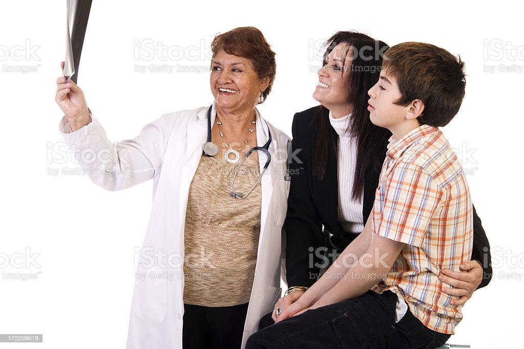 At the Clinic royalty-free stock photo