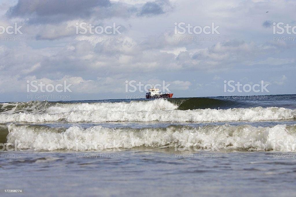 at the coast royalty-free stock photo