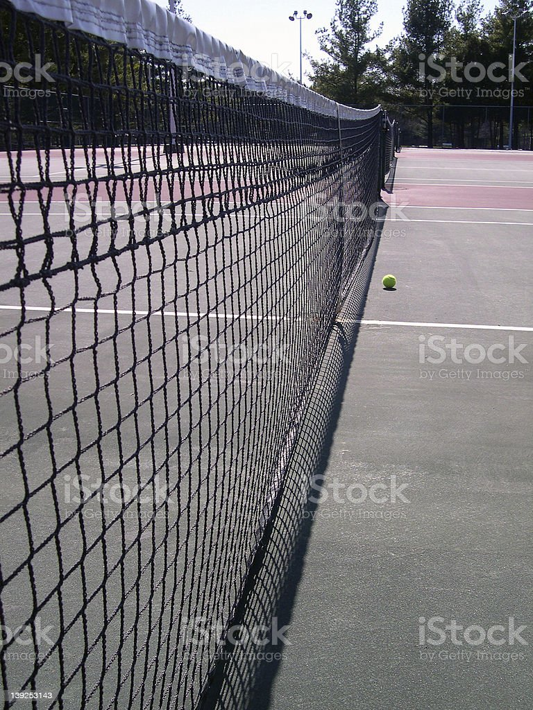 At the Courts royalty-free stock photo