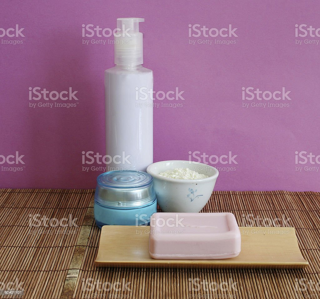 At the day spa royalty-free stock photo