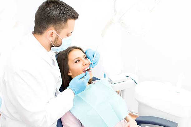 Bei der Zahnarzt – Foto