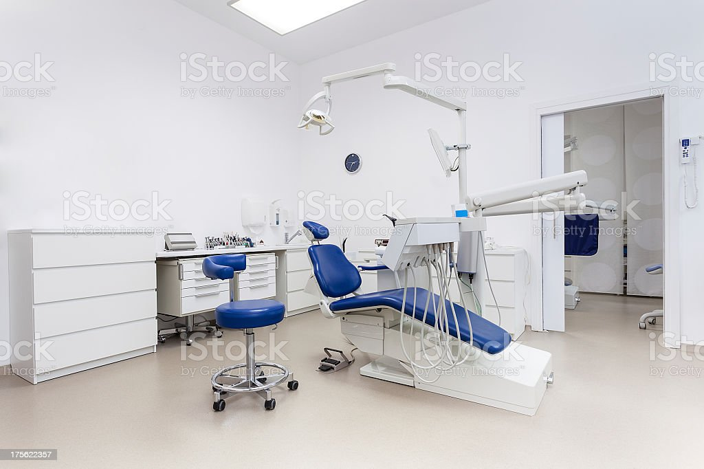 At the dentist's royalty-free stock photo