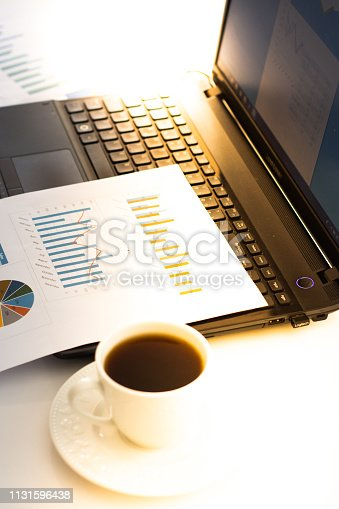 801895196istockphoto At the desk preparing the presentation 1131596438