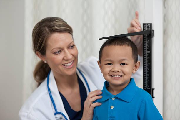 At the doctor stok fotoğrafı