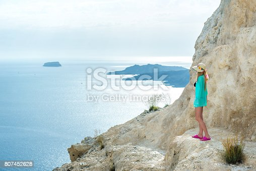 istock At the edge of the cliff 807452628