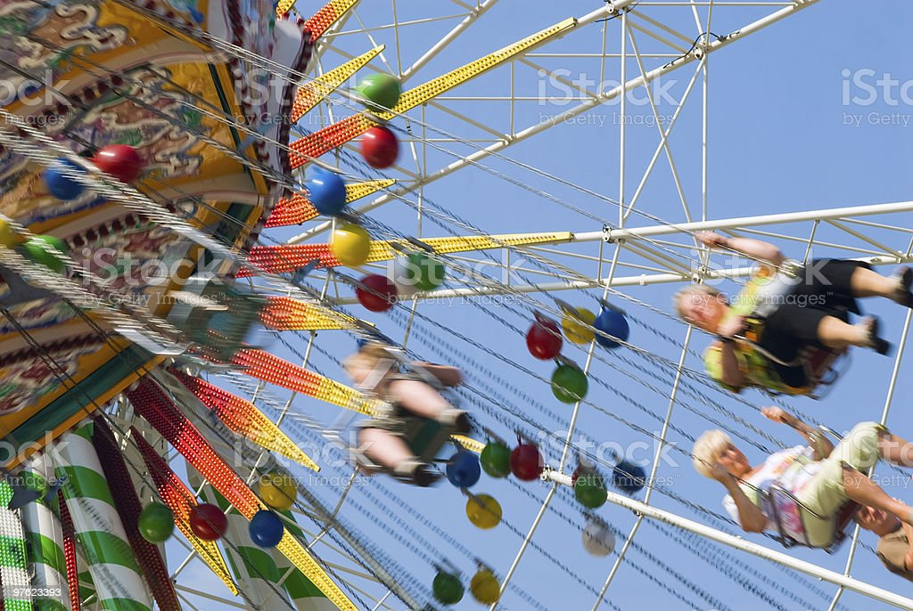 At the fair royalty-free stock photo