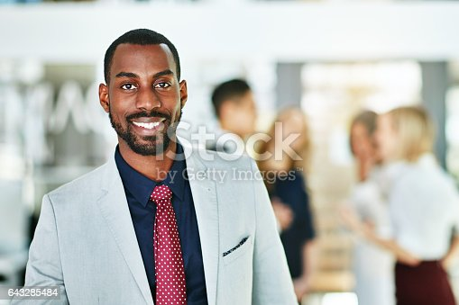 istock At the forefront of the company 643285484