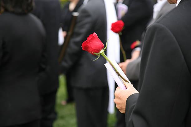 il corteo (sepoltura - funerale foto e immagini stock