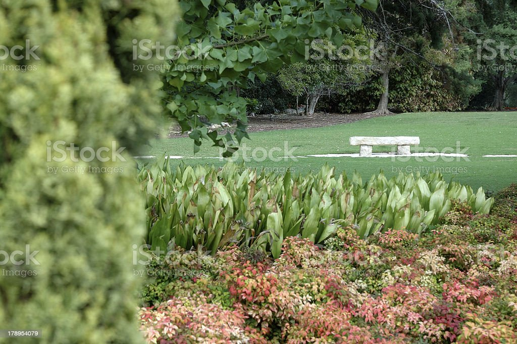 At the garden royalty-free stock photo