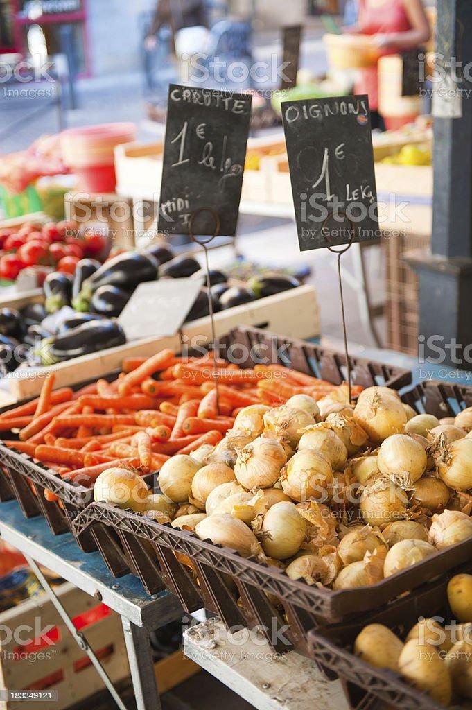 At the market royalty-free stock photo