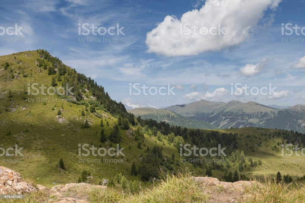 An der Nockalmstrasse stock photo
