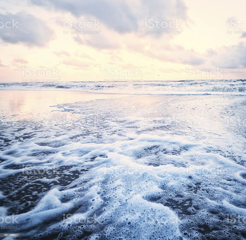 At the ocean royalty-free stock photo
