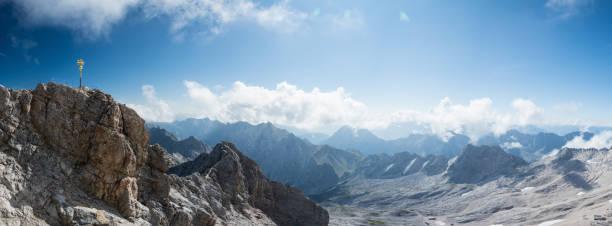 Auf dem Gipfel der Zugspitze, Bayern, Deutschland – Foto