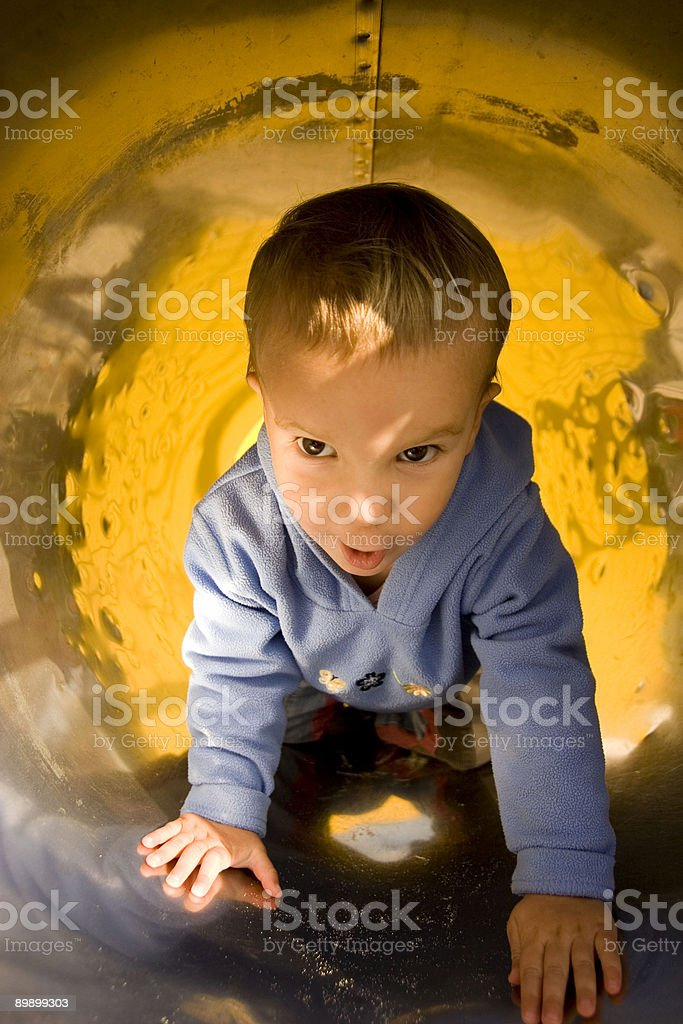 At the playground royalty-free stock photo