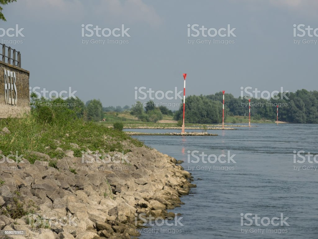 at the river rhine royalty-free stock photo
